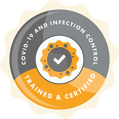 Covid-19 and Infection Control - Trained and Certified
